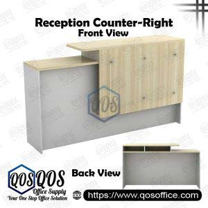 Executive Reception Counter | QOS-B-SCT1800