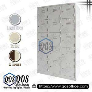 Multiple-Steel-Locker-15-Compartment-Steel-Locker-QOS-GS126-A