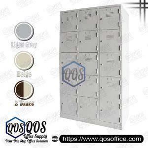 Multiple-Steel-Locker-15-Compartment-Steel-Locker-QOS-GS126-AS