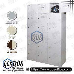 Multiple-Steel-Locker-18-Compartment-Steel-Locker-QOS-GS115-A