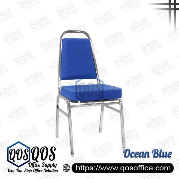 Office Chair Banquet Chair QOS-CH676C Ocean Blue