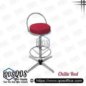 Office Chair Bar Stools QOS-CH775C Chille Red