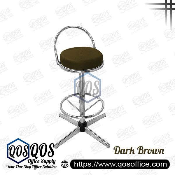 Office Chair Bar Stools QOS-CH775C Dark Brown