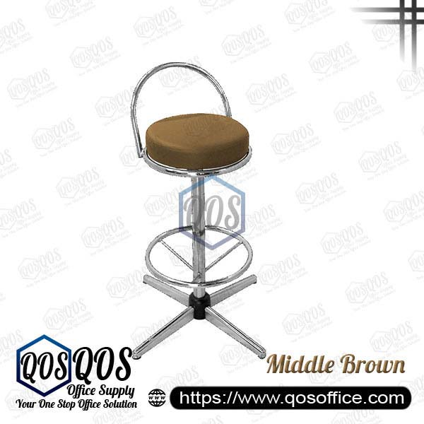 Office Chair Bar Stools QOS-CH775C Middle Brown