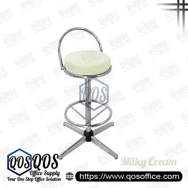 Office Chair Bar Stools QOS-CH775C Milky Cream