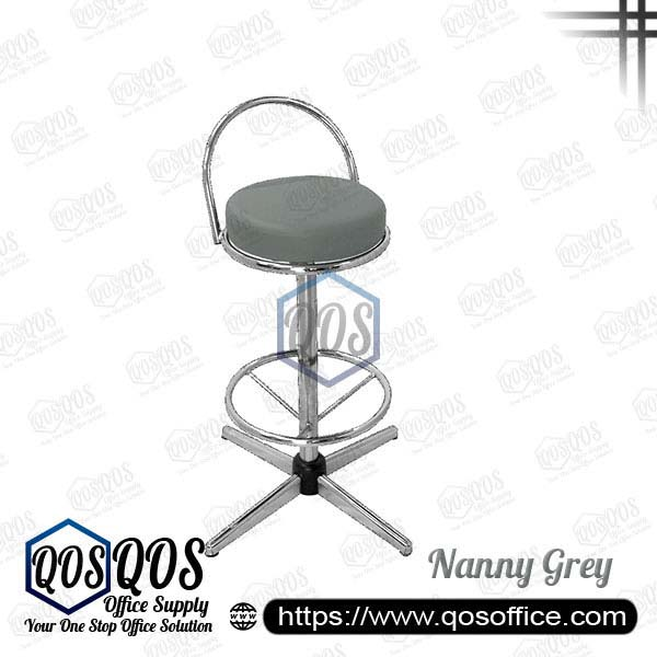 Office Chair Bar Stools QOS-CH775C Nanny Grey