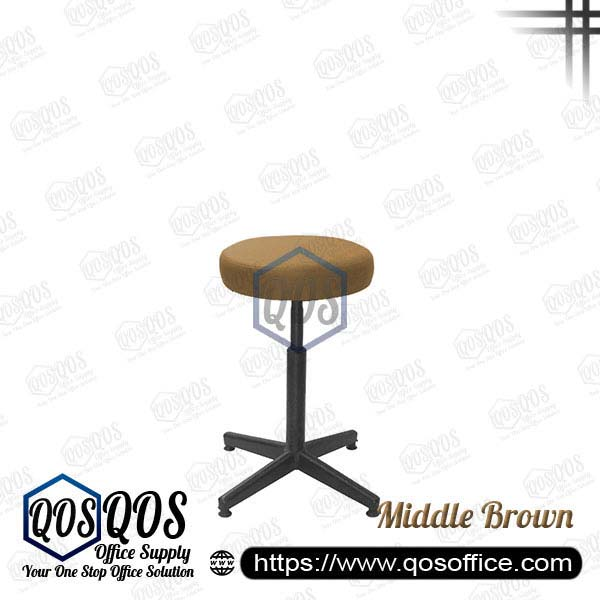 Office Chair Bar Stools QOS-CH785E Middle Brown