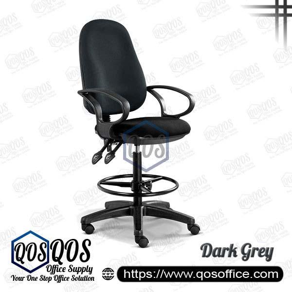 Office Chair Drafting Chair QOS-CH289H Dark Grey