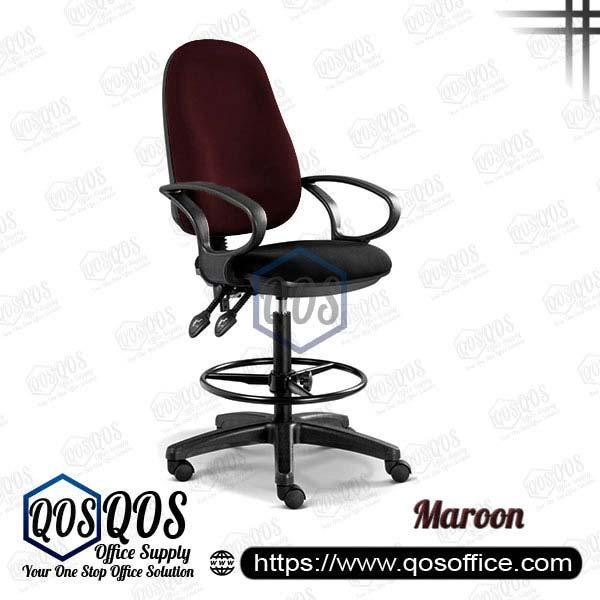 Office Chair Drafting Chair QOS-CH289H Maroon