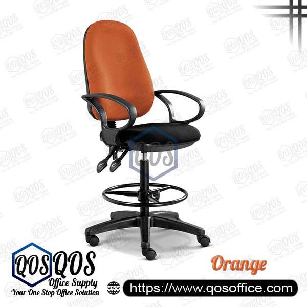 Office Chair Drafting Chair QOS-CH289H Orange