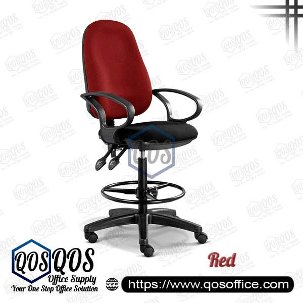 Office Chair Drafting Chair QOS-CH289H Red