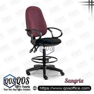 Office Chair Drafting Chair QOS-CH289H Sangria