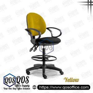 Office Chair Drafting Chair QOS-CH290H Yellow