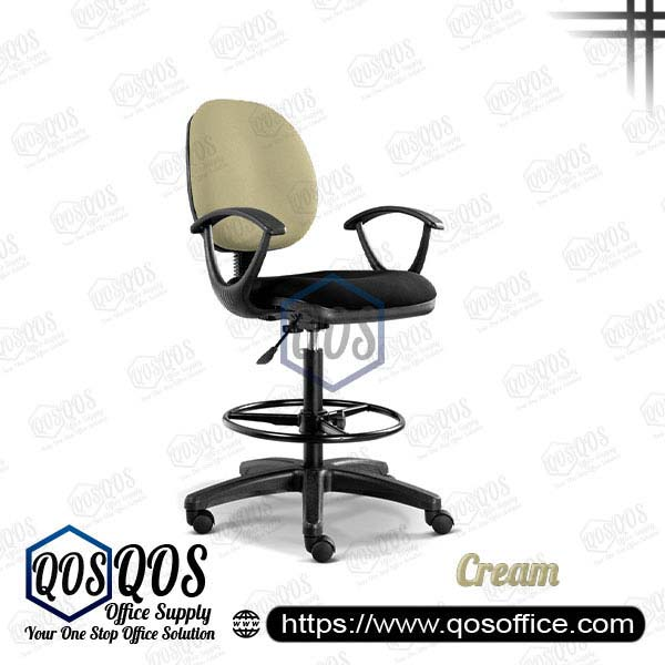 Office Chair Drafting Chair QOS-CH291H Cream