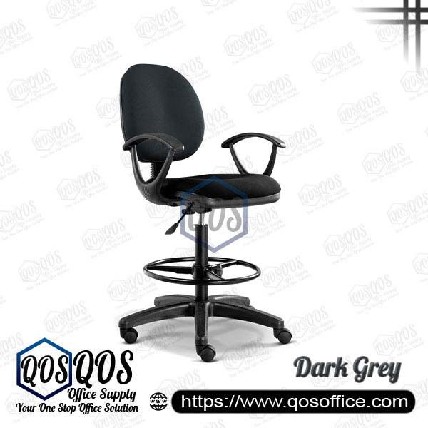 Office Chair Drafting Chair QOS-CH291H Dark Grey