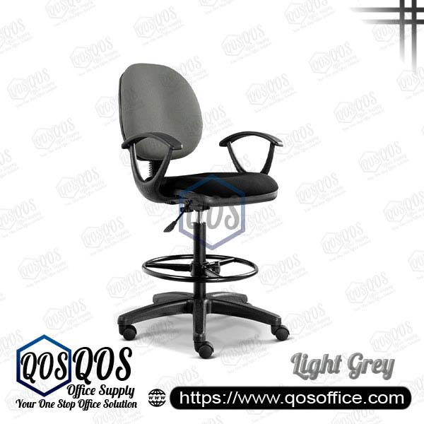 Office Chair Drafting Chair QOS-CH291H Light Grey