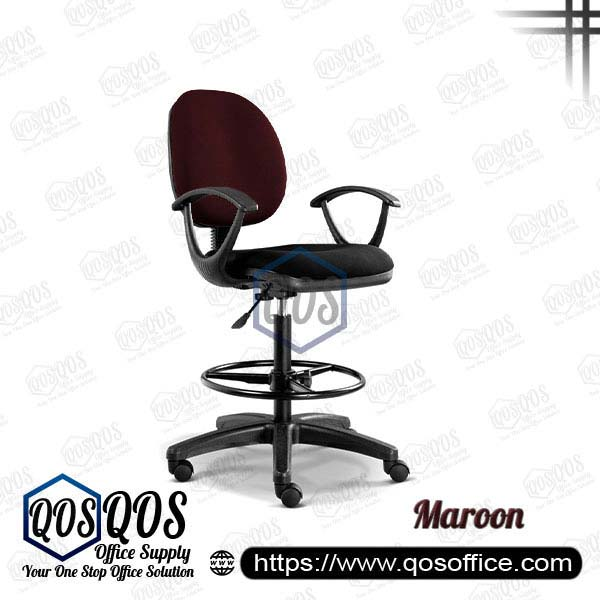 Office Chair Drafting Chair QOS-CH291H Maroon