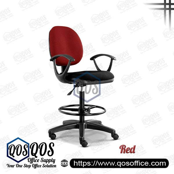 Office Chair Drafting Chair QOS-CH291H Red