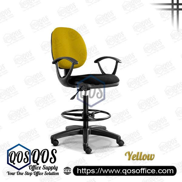 Office Chair Drafting Chair QOS-CH291H Yellow