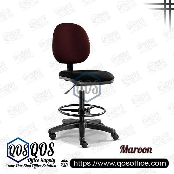Office Chair Drafting Chair QOS-CH292H Maroon