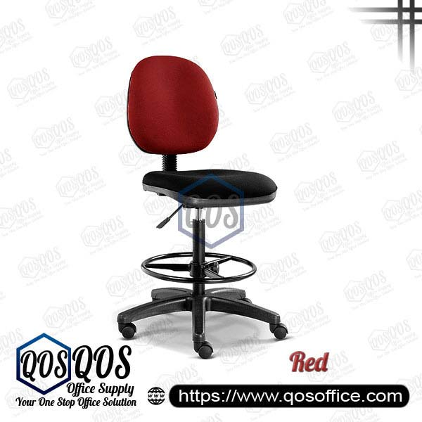 Office Chair Drafting Chair QOS-CH292H Red