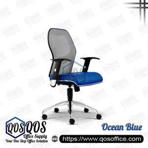 Office Chair Ergonomic Mesh Chair QOS-CH2092H Ocean Blue