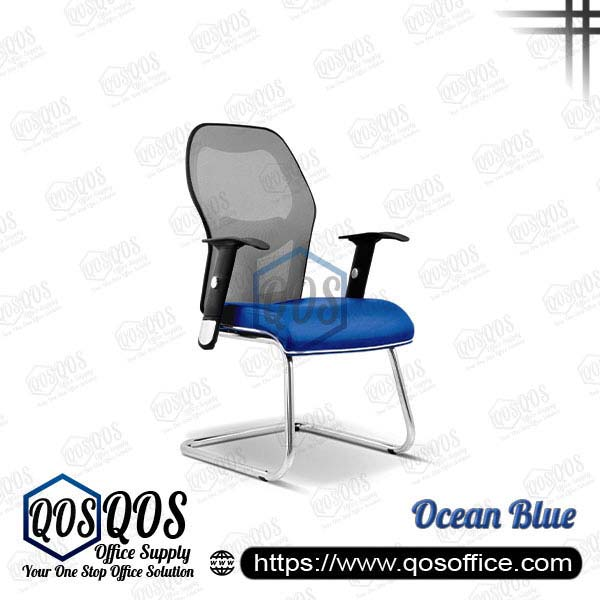Office Chair Ergonomic Mesh Chair QOS-CH2093S Ocean Blue