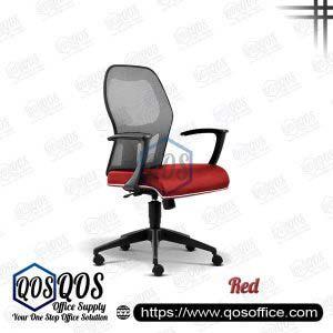 Office Chair Ergonomic Mesh Chair QOS-CH2096H Red