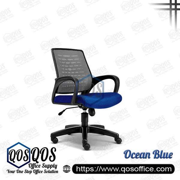 Office Chair Ergonomic Mesh Chair QOS-CH2223H Ocean Blue