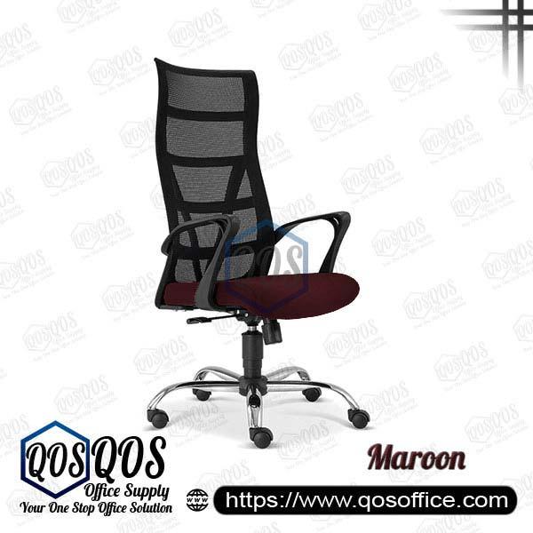 Office Chair Ergonomic Mesh Chair QOS-CH2671H Maroon