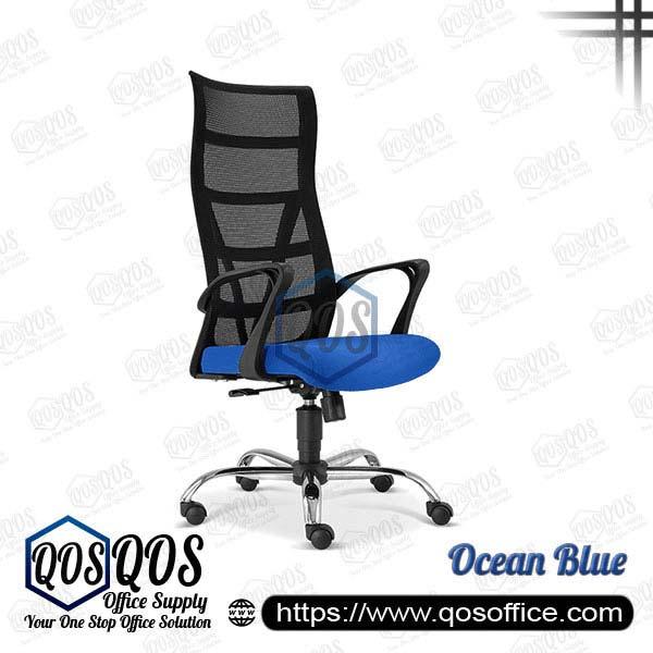 Office Chair Ergonomic Mesh Chair QOS-CH2671H Ocean Blue
