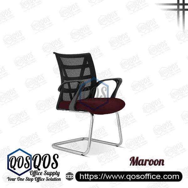 Office Chair Ergonomic Mesh Chair QOS-CH2673S Maroon