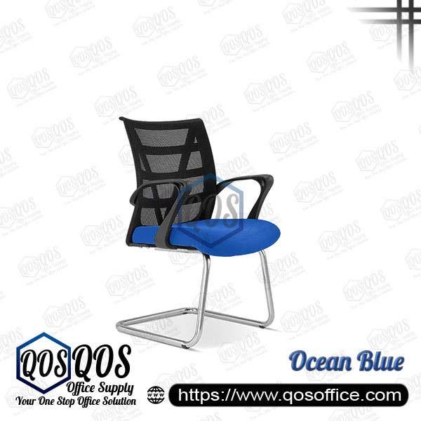 Office Chair Ergonomic Mesh Chair QOS-CH2673S Ocean Blue