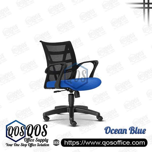 Office Chair Ergonomic Mesh Chair QOS-CH2676H Ocean Blue