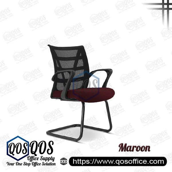 Office Chair Ergonomic Mesh Chair QOS-CH2677S Maroon