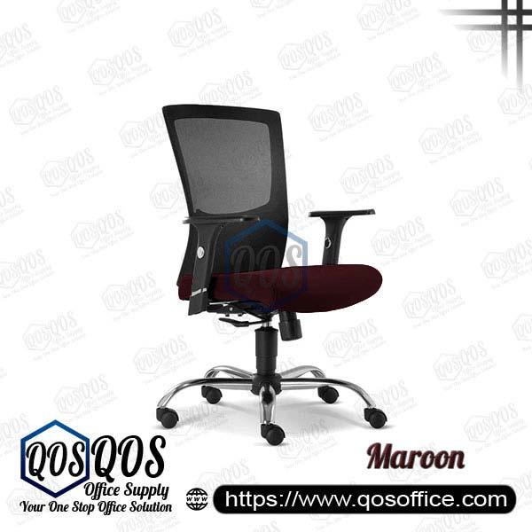 Office Chair Ergonomic Mesh Chair QOS-CH2682H Maroon