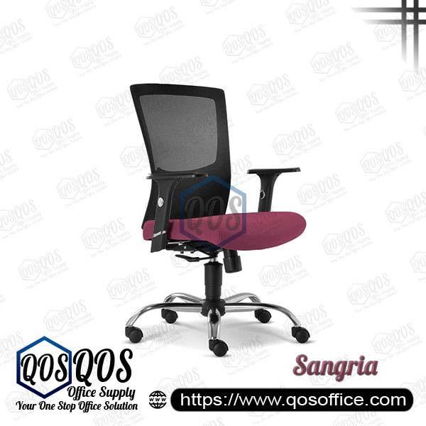 Office Chair Ergonomic Mesh Chair QOS-CH2682H Sangria