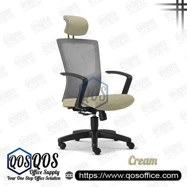 Office Chair Ergonomic Mesh Chair QOS-CH2685H Cream