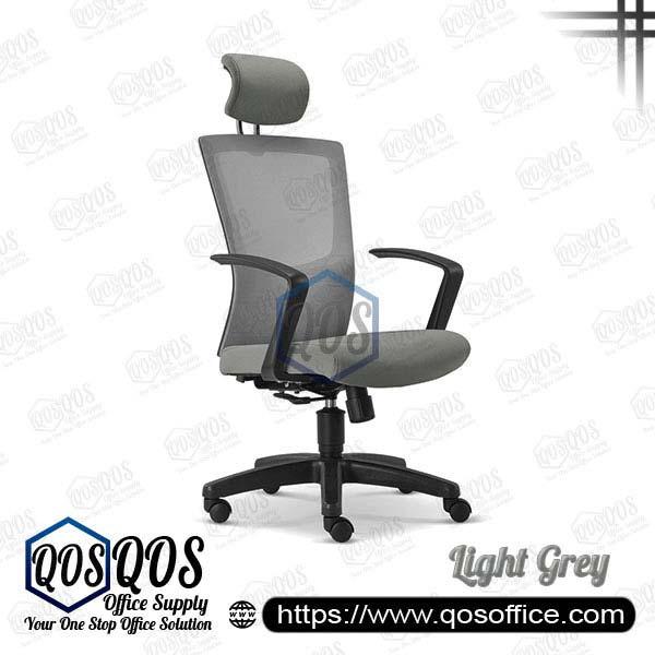Office Chair Ergonomic Mesh Chair QOS-CH2685H Light Grey