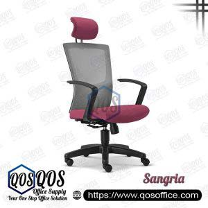 Office Chair Ergonomic Mesh Chair QOS-CH2685H Sangria