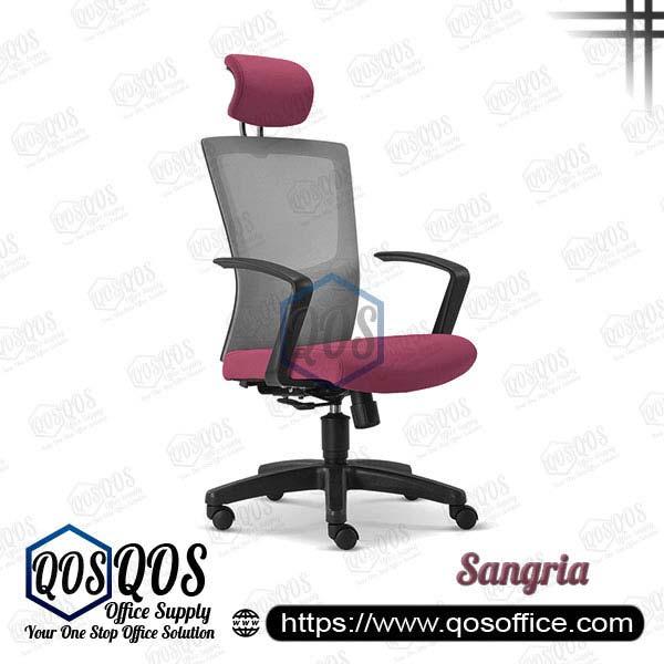 Office Chair Ergonomic Mesh Chair QOS-CH2685H Sangria