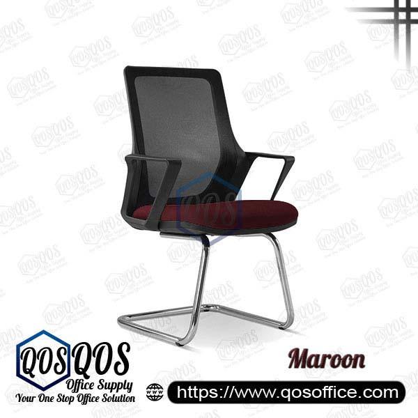 Office Chair Ergonomic Mesh Chair QOS-CH2695S Maroon