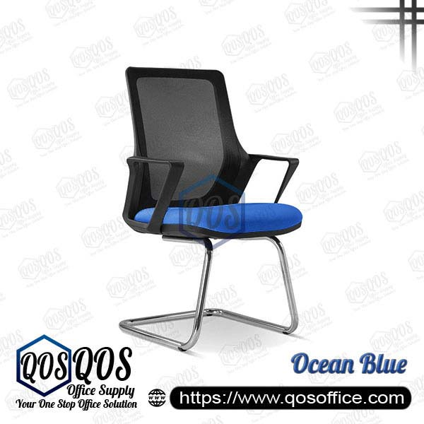 Office Chair Ergonomic Mesh Chair QOS-CH2695S Ocean Blue
