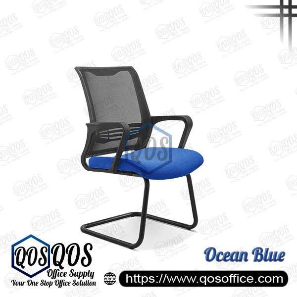Office Chair Ergonomic Mesh Chair QOS-CH2723S Ocean Blue