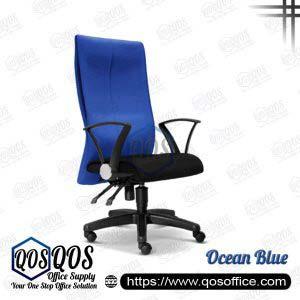 Office Chair Executive Chair QOS-CH120H Ocean Blue