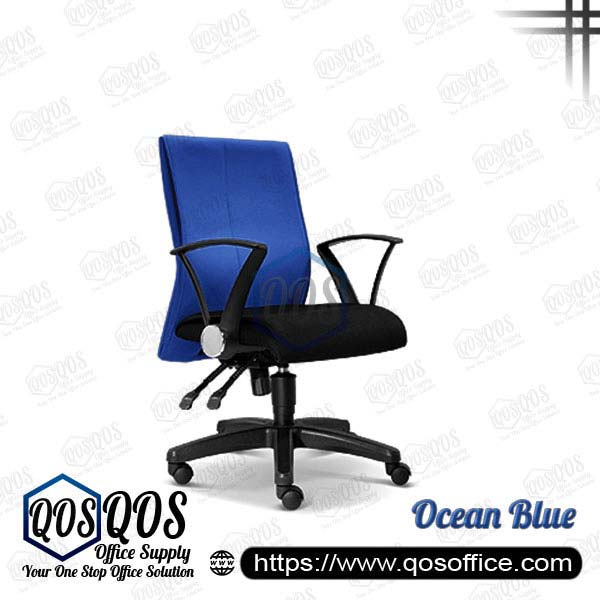 Office Chair Executive Chair QOS-CH122H Ocean Blue