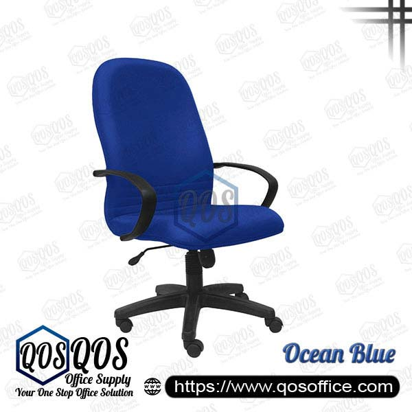 Office Chair Executive Chair QOS-CH140H Ocean Blue