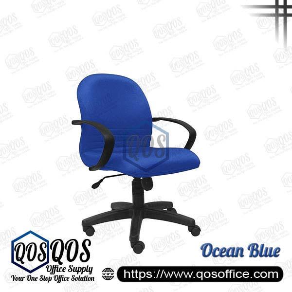 Office Chair Executive Chair QOS-CH142H Ocean Blue