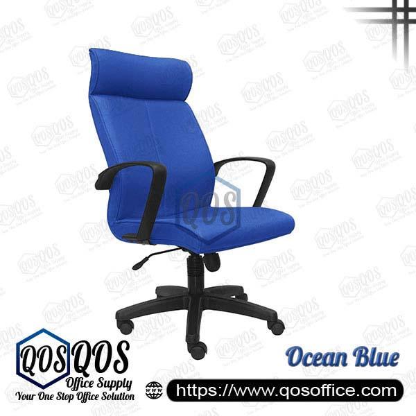 Office Chair Executive Chair QOS-CH181H Ocean Blue