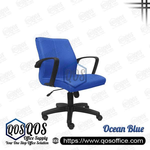 Office Chair Executive Chair QOS-CH183H Ocean Blue